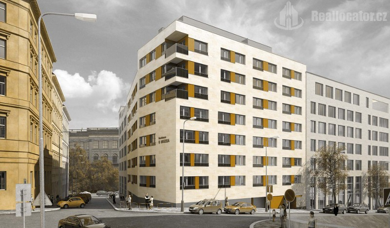 For sale 2-room apartment in new building, Prague – Vinohrady
